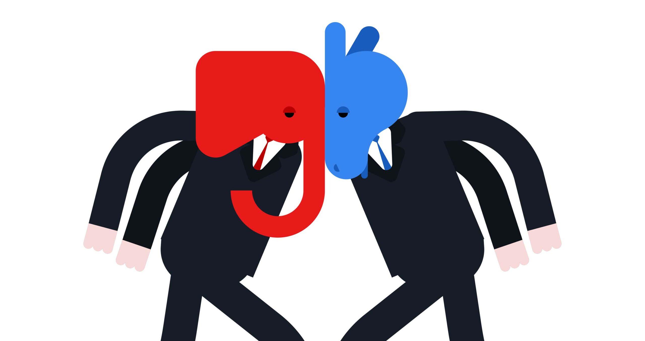 Election Democrat vs. Republican