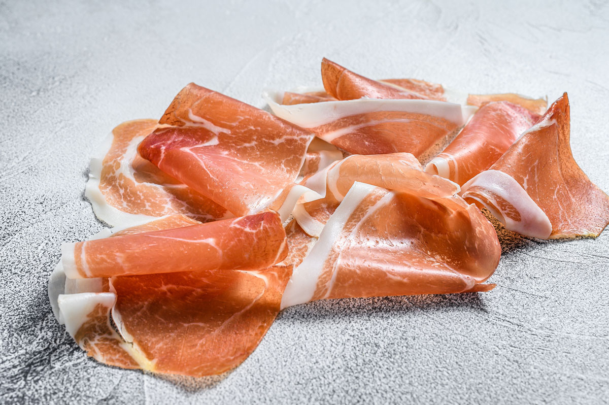Prosciutto means ham, made in Italy since ancient Roman times and still winning over Italian diners.