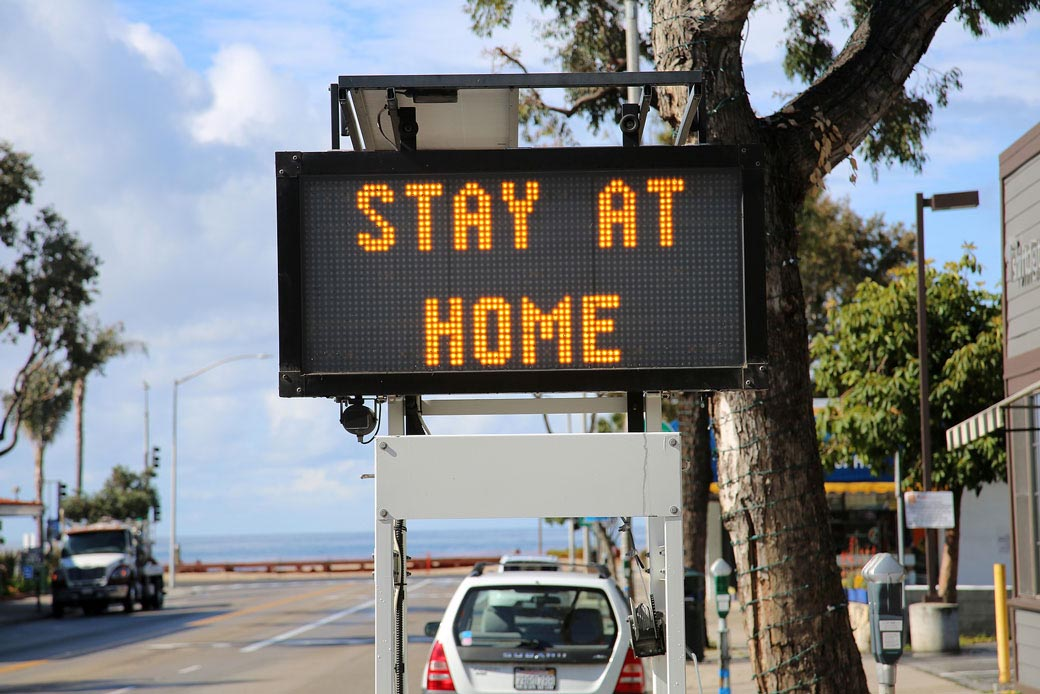 Stay at home California