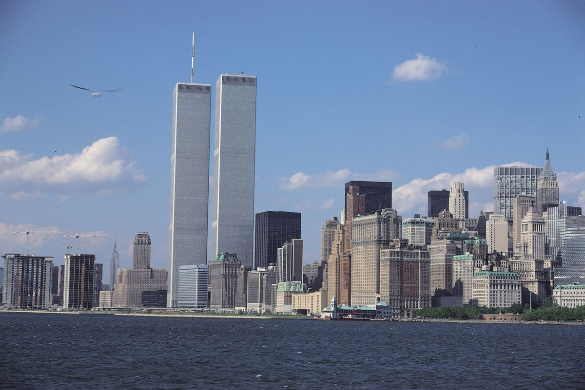 A typical view of New York City's skyline since the twin towers were completed in the early 1970s. Courtesy photo