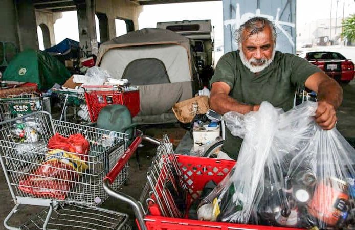 Over the last six months, 78 homeless encampments were cleared in Vista. Courtesy photo