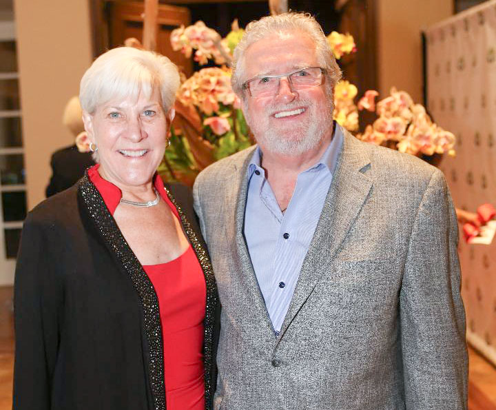 Deborah and Les Cross were the co-chairs of Giving Hearts.