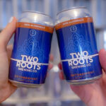 Two Roots Brewing Co's NA Oktoberfest. Photo courtesy of Two Roots Brewing