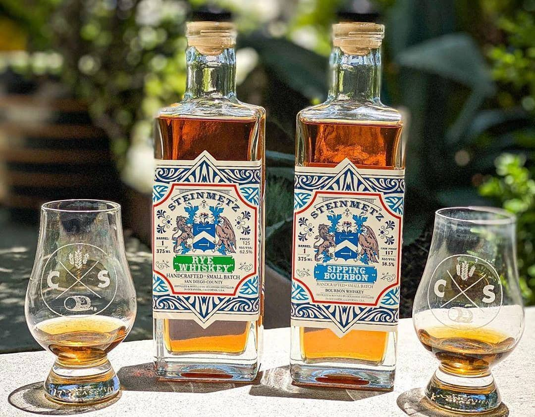 Established in 2017, Oceanside Distillers distills two brands, including Steinmetz. In 2021, the Sipping Bourbon won Double Gold in the San Francisco World Spirits Competition. Photo via Facebook
