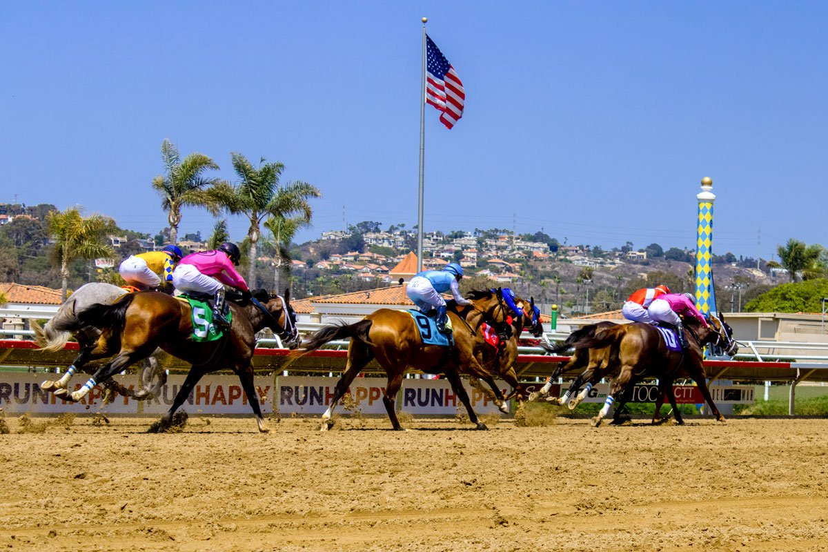 Opening Day at the seaside oval in Del Mar